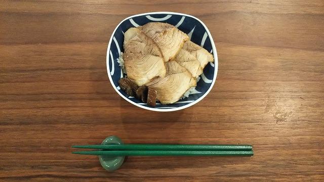 """フジマート煮豚 スタミナ丼"""""""